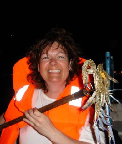 Crab hunting