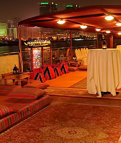 Dubai Marina Dhow Cruise – with dinner